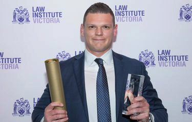 Tom Burgoyne aims for top spot in the 2018 Australian Law Awards