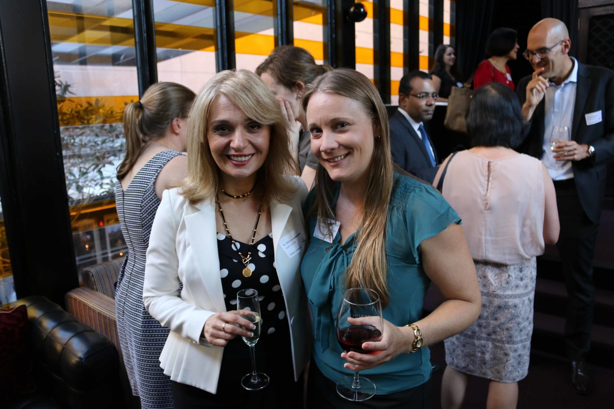 DLS Alumni's first networking event for 2016
