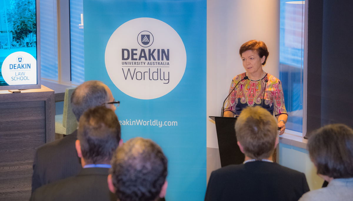 Juris Doctor launch Deakin Law School
